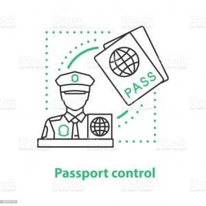 Passport control service