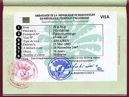 Madagaskar vizesi
