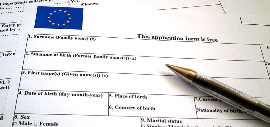 schengen vize başvuru formu