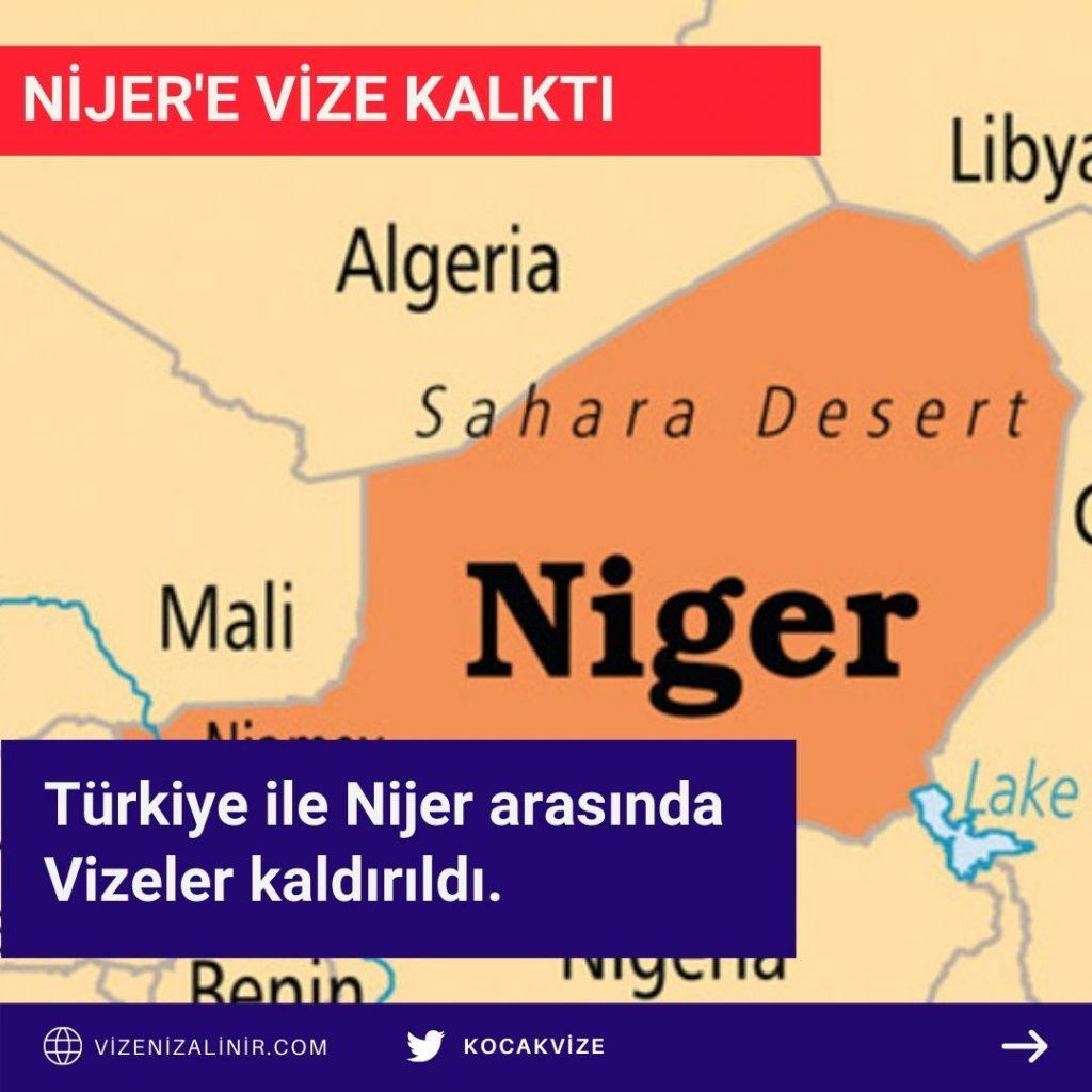 Nijer'e Vize Kaldırıldı
